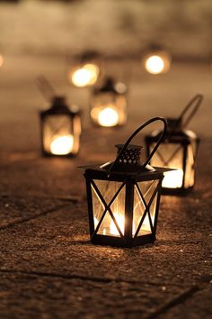 »✿❤Chocolate Brown❤✿« Lanterns by joytrip*