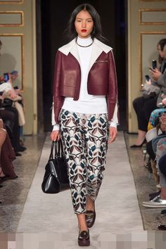 A look from Tod's Women's Autumn Winter 2015 Collection