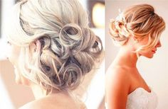 Messy Low Bun - 18 Best ideas of Wedding Hairstyles for Women with Thin Hair - EverAfterGuide