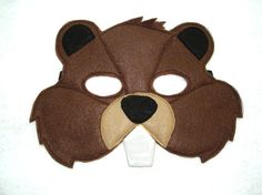 This BEAVER mask is designed for everyday fun, great for dress up and pretend play, ideal gift, perfect for themed birthday parties, party favor and