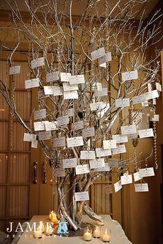 Seating card tree