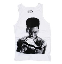 The Air Jordan Concord 11 XI Pookie tank top, straight from New Jack City, that sh#t just be callin me man, it be callin' me, man. What else to say? Brand new tank from your favorite independent streetwear company.