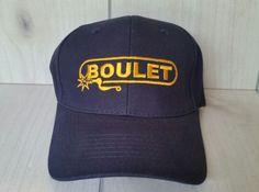 Boulet Boot Company Hat Baseball Cap Adjustable Navy Blue New #Unbranded #BaseballCap