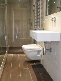 narrow wet bathroom - Google Search