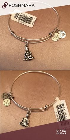 Alex & Ani Silver Finish Buddha Brand New With Tag! ⛔️ NO TRADES, NO PAYPAL, NO MERCARI, NO HOLDS ⛔️ smoke free, pet free home  let me know if you have other questions  PLEASE MAKE OFFERS THROUGH THE OFFER BUTTON. Alex & Ani Jewelry Bracelets