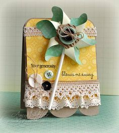 Pinwheel Die! by PickleTree - Cards and Paper Crafts at Splitcoaststampers