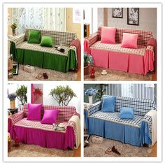Home Sofa Decoration Slipcover Full Cover Towel 200 300cm Cushion 13 Colors Free Shipping 38 99