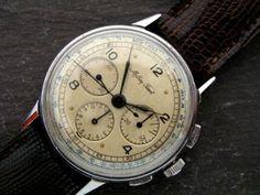 tissot 40's vintage watch