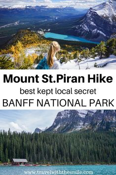 Piran Hike Banff National Park best kept local secret in the Canadian Rockies. Canada National Parks, Parks Canada, Banff National Park, Canada Trip, Alberta Travel, Canadian Travel, Canadian Rockies, To Infinity And Beyond, Best Hikes
