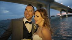 Highlights of wedding on Yacht Sensation in Clearwater.  Yacht Sensation on of three Dining Cruse Ships run by Yacht Starship in the Tampa Bay Area http://celebrationsoftampabay.com/wedding-videographers-clearwater/
