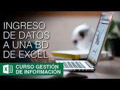 Como introducir datos en Excel con formulario - Capítulo 256 - YouTube Tutorial Excel, Microsoft Excel, Software, Education, Carrera, Words, Computers, Youtube, Ideas