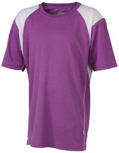 James & Nicholson - Camiseta de running morada #regalo #arte #geek #camiseta