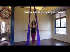 """The """"Pin Up"""" Entry into Straddle X Back Inversion with AERIAL PHYSIQUE - YouTube"""