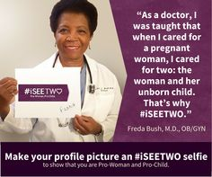 When it Comes to Abortion, is There One Person or Two? #iSEETWO http://www.lifenews.com/2015/01/08/when-an-abortion-is-done-is-there-one-person-or-two-iseetwo/