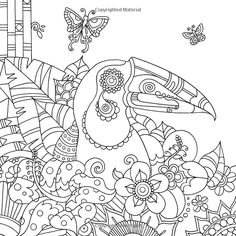 Colour Me Mindful Tropical Colouring Bk Co