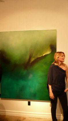 donated painting: Nest Foundation: Laurel Holloman