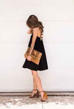 Little Black Dress | cc: @expresslife - More on www.TheStyleBungalow.com...