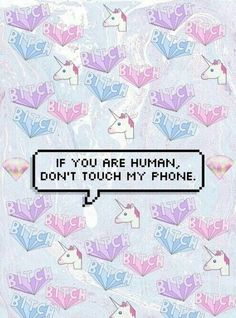 unicorn, wallpaper, and phone