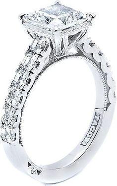 Tacori Princess Cut Diamond Engagement Ring 35PR