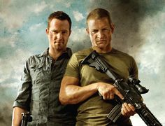 Strike Back on Cinemax - Hands down my favorite show to watch.  LOVE IT!