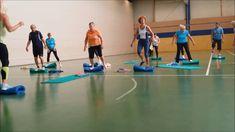 Gleichgewichtstraining Nordic Walking, Yoga, Pilates, Basketball Court, Exercise, Fitness Workouts, Youtube, Sports, Training