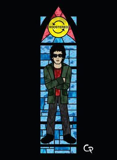 Gustavo Cerati Fallout Vault, Soda, Fictional Characters, Art, Gustavo Cerati, Display, Backgrounds, Musica, Craft Art