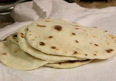 How to Make Flour Tortillas - Homemade Flour Tortillas