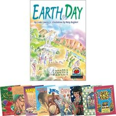 Great texts for holidays including Earth Day, MLK Jr Day, Veteran's Day, etc.