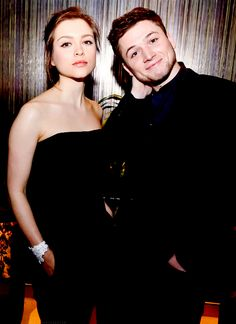 Taron Egerton and Sophie Cookson, just love this pair :)