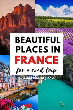 Planning a France road trip? Looking for the best regions to visit in France (with points of interest)? Here are 11 of the best places to visit- with MAP! Paris Nice, Europe Travel Tips, Travel Guides, Travel Abroad, European Travel, Cool Places To Visit, Places To Travel, Road Trip Destinations, France Destinations
