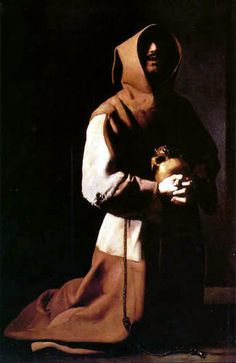 Francisco de Zurbaran - St Francis in Meditation - c 1639