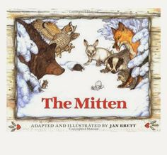 Jan Brett creates a dramatic picture book with the story of Nicki, a young boy who has lost a mitten in the snow and the animals who try to make a home of it. Jan Brett, The Animals, Arctic Animals, Chut Je Lis, The Snow, Sleepy, The Reader, Author Studies, Unit Studies