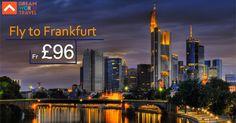 Find Great Deals on Flights to Frankfurt from Dream World Travel.Get cheap Flight Deals, Holiday Deals and Hotel Deals to your Favourite destinatons worldwide at www.dwtltd.com.  #CheapFlights #Flights #Deals #To #Frankfurt