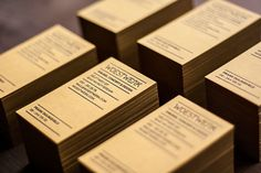 Unique Laser-Cut Letterpress Busness Cards - Woestwerk Info