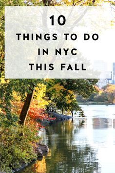 Things to do in NYC in fall, on York Avenue blog