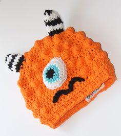 Adorable Monster Hat for kids...