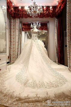 Wedding Dresses Long Train Google Da Ara Crystal Luxury Dress