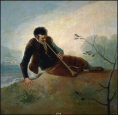 Goya en El Prado: Pastor tocando la dulzaina                                                                                                                                                                                 Más