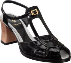 Colorblock Perforated Sandal - Lyst