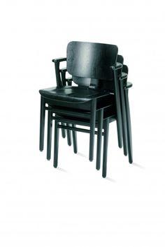 ICFF 2011: Domus chair by Ilmari Tapiovaara for artek / stained black (Helsinki, Finland)