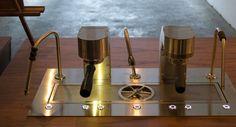 #CustomEspresso ¿Qué os parece esta máquina modular de MAVAM Espresso? Los colores son una pasada!!