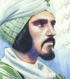 """Abu Yūsuf Yaʻqūb ibn 'Isḥāq aṣ-Ṣabbāḥ al-Kindī, is known as """"the Philosopher of the Islamic empire (Abbasid Caliphate)"""". was an Arab Muslim philosopher, polymath, mathematician, physician and musician. Al-Kindi was the first of the Muslim peripatetic philosophers, and is unanimously hailed as the """"father of Arab philosophy"""" for his synthesis, adaptation and promotion of Greek and Hellenistic philosophy in the Muslim world."""