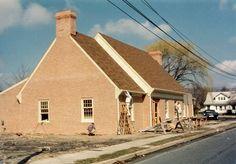 Delmar Public Library, almost done! 1982.
