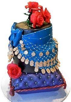 pregnancy belly dancing birthday cake - Pesquisa Google