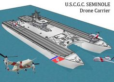 Next Big Future: Drone Carrier Naval Ship Designs