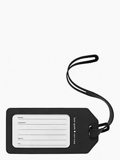 Off We Go Luggage Tag - le pavilion by kate spade new york