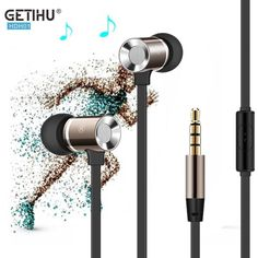 In-Ear Micro Wire Metal Earphone Headset Super Bass Earbuds Stereo Headphone Headfree for Phone Samsung Apple iPhone 7 6s 6 5 4  EUR 3.48  Meer informatie  http://ift.tt/2qjhPhS #aliexpress