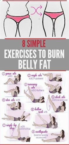 Belly Fat Workout - 8 SIMPLE EXERCISES TO REMOVE BELLY FAT QUICKLY – Women z Fitness Do This One Unusual 10-Minute Trick Before Work To Melt Away 15+ Pounds of Belly Fat