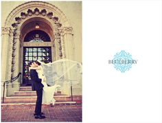 Beautiful veil from France! Berkeley City Club Wedding Photography.