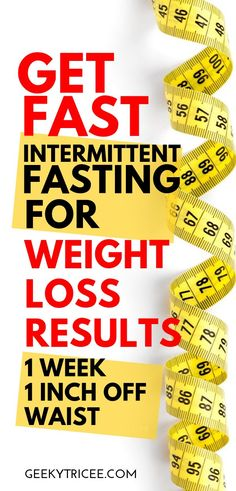 Intermittent fasting for weight loss results for week before and after. Get intermittent fasting tips for women, learn what schedule, meals, and foods I ate to lose weight. I do intermittent fastin Weight Loss Routine, Weight Loss Goals, Fast Weight Loss, Weight Loss Program, Fat Fast, Lose Weight Naturally, How To Lose Weight Fast, Loose Weight, Weight Loss Results